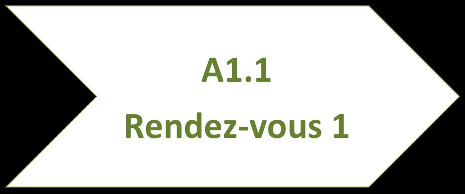 Cours de français A1.1