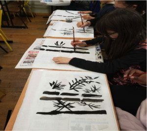 Calligraphie TONGJI